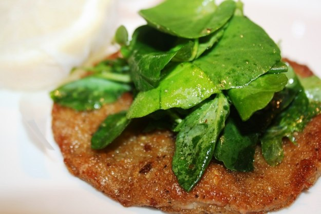 Schnitzel of Wexford Rose Veal
