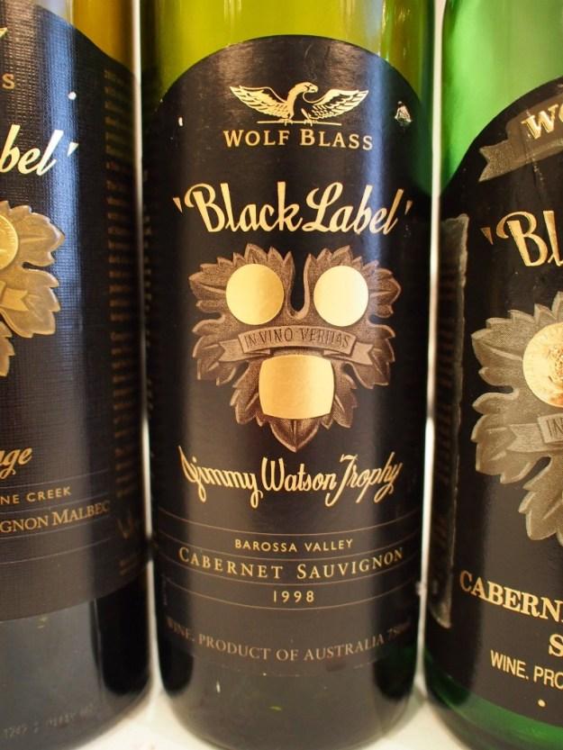 The 1998 Black Label Wolf Blass
