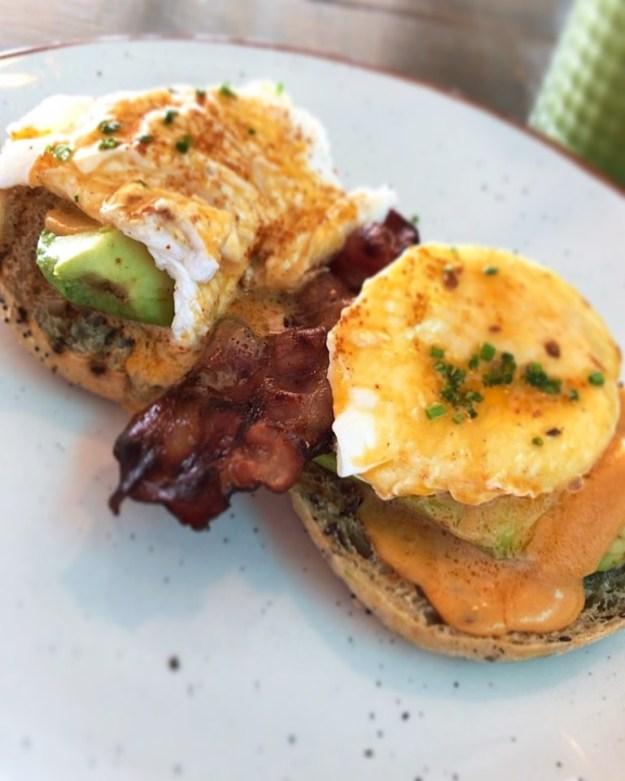 Poached Eggs in Skinny Kitchen Ibiza