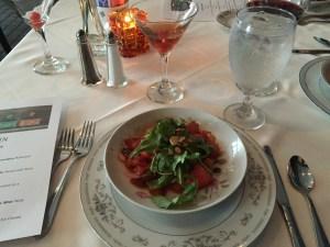 Salad, wonderful tomatoes
