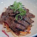 Korean beef short rib appetizer.    Photo by Steve Coomes