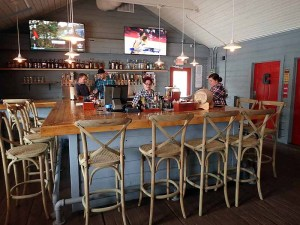 The bar area at Red Barn Kitchen.  | Photo by Steve Coomes