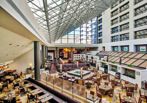 The recently renovated BlueFire Grill in Lexington. | Photo courtesy of Hyatt Regency Lexington