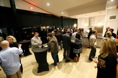Last year's Top Shelf kick-off event was held at Copper & Kings Distillery in Butchertown. This year's event will be held across the street at Butchertown Grocery's Lola lounge upstairs.