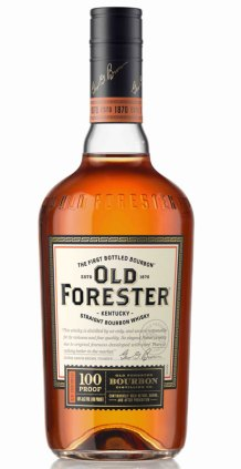 "Where'd the ""Signature"" go on the 100-proof Old Forester bottle?"
