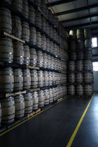 A full warehouse at Bulleit. | Photo courtesy of Bulleit Distilling Co.