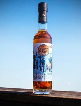Blue Sky Mining Muscat brandy.