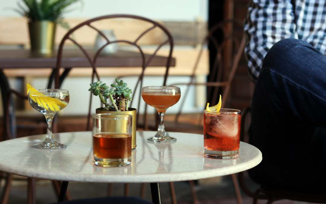 Bourbon and Bourbon Cocktails on the Patio at Branchwater All Summer Long!
