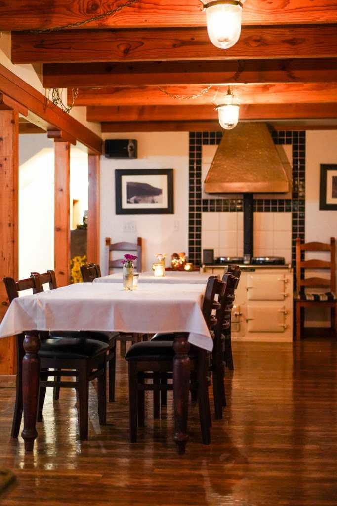 Dinner at Farm Table Inn in Cowichan, BC