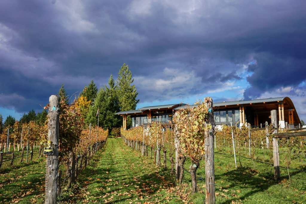 Blue Grouse Estate Winery in Cowichan, BC