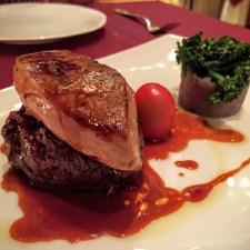 Beef Tenderloin with Foie Gras