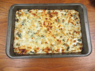 And last but not least: spinach artichoke dip!