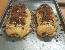 Chocolate Almond Croissant Bread: Round 2