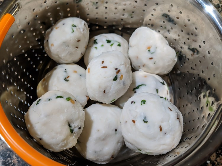Instant Pundi Recipe | Rice flour Dumplings with Seasoning 3