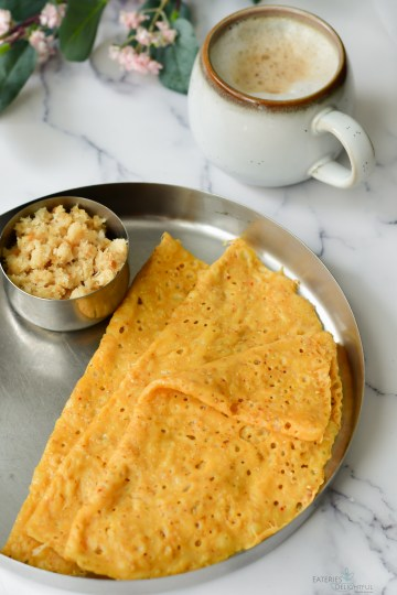 Spicy Neer Dosa