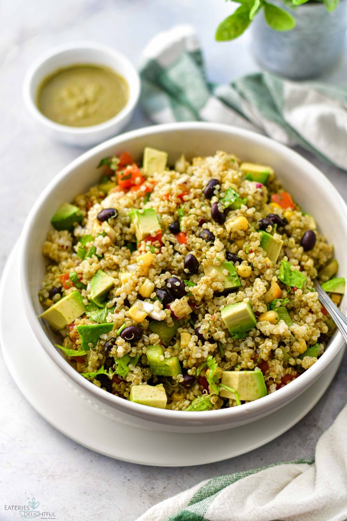 Southwest Quinoa Salad 4