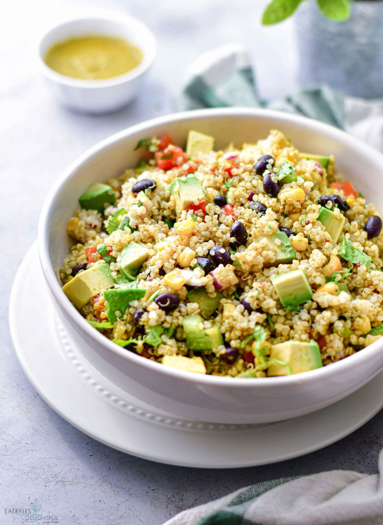 Southwest Quinoa Salad 1