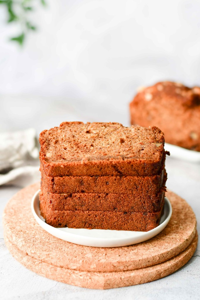 Healthy Banana Nut Bread 2