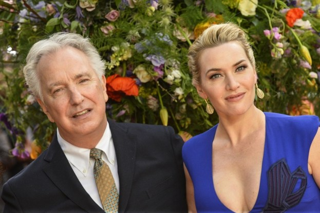 "Celebrities attends the U.K Premiere of ""A Little Chaos"" at the Odeon Kensington in London.Featuring: Kate Winslet, Alan RickmanWhere: London, United KingdomWhen: 13 Apr 2015Credit: Euan Cherry/WENN.com"