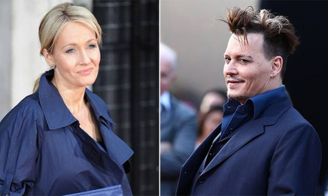 Jo rowling and depp