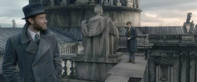 albus dumbledore, newt scamander, crimes of grindelwald