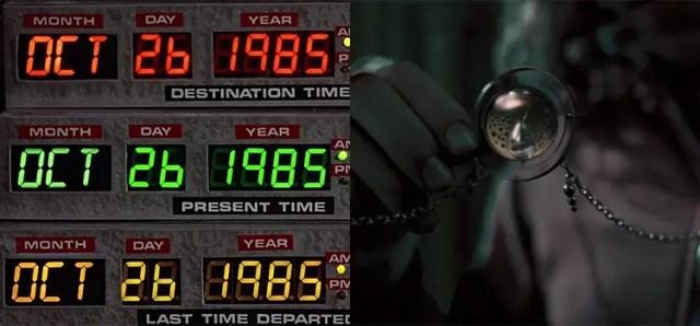 Il viaggio nel Tempo in Ritorno al Futuro e Harry Potter