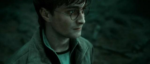 Harry nella Foresta Proibita pronto al sacrificio