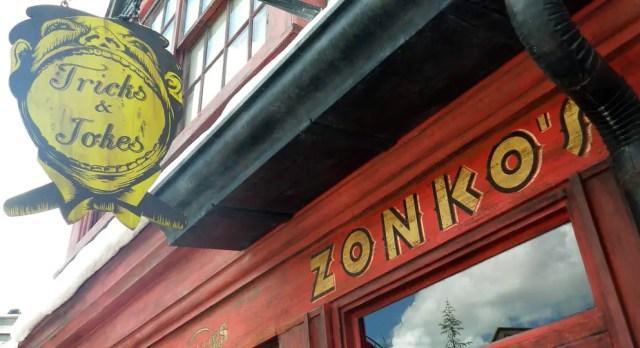 Il Negozio di Scherzi di Zonko a Hogsmeade