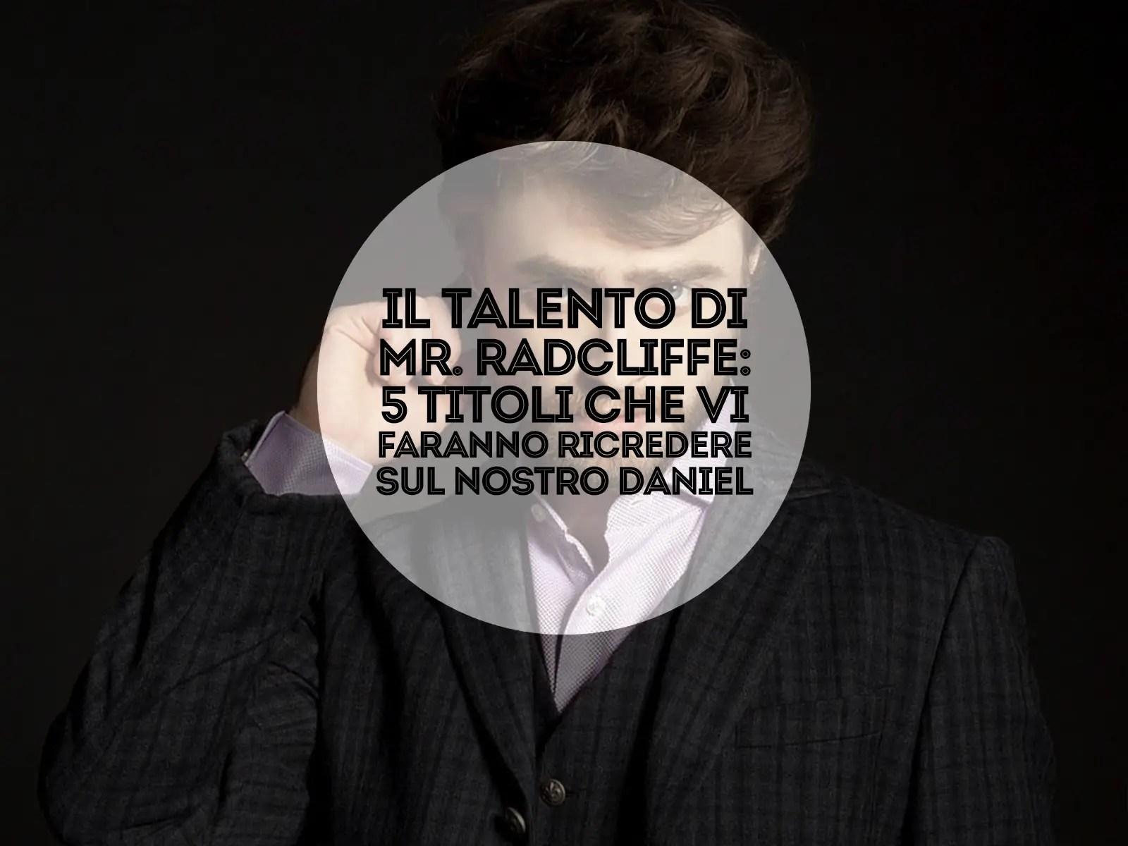 Il talento di Mr Radcliffe