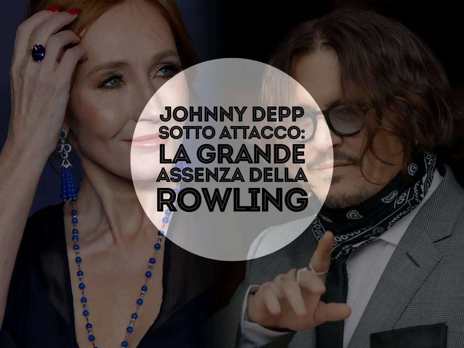 Rowling assente sul caso Johnny