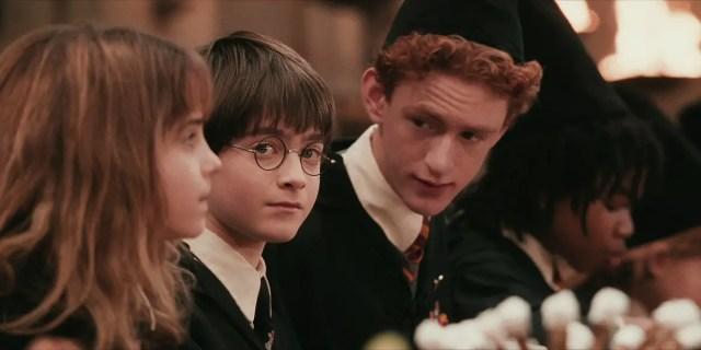 Percy parla con Harry