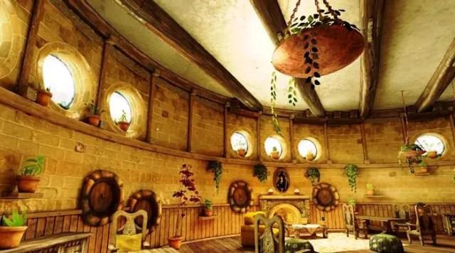 Sala comune dei Tassorosso