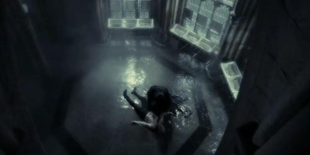 Draco colpito dall'incantesimo Sectumsempra: ferire uno studente a Hogwarts è contro le regole