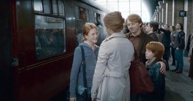 Foto Ron e Hermione