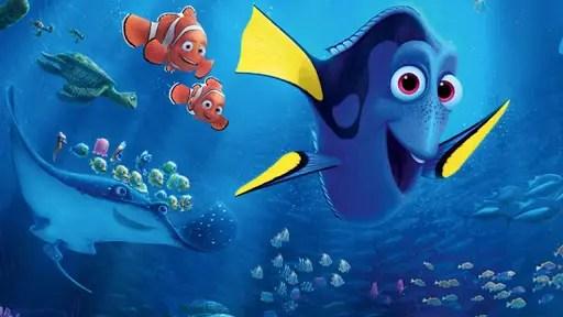 Nemo, Marlin e Dory