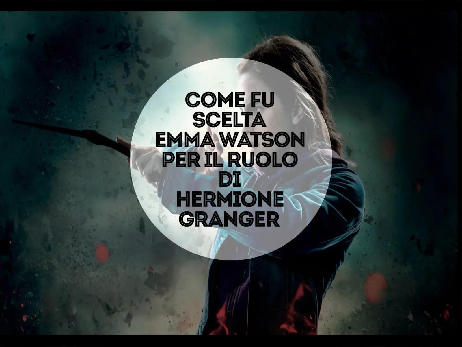 Emma Watson, Hermione