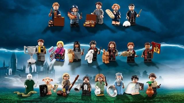 20° Anniversario LEGO, minifigure