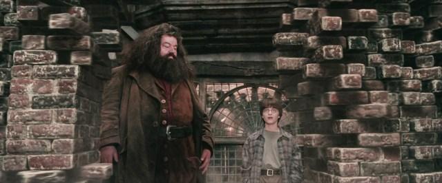 Il muro oltre il quale c'è Diagon Alley,  nonché uno dei principali ingressi nascosti del mondo magico