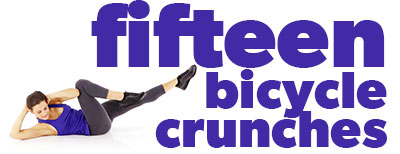 fifteen-bicycle-crunches