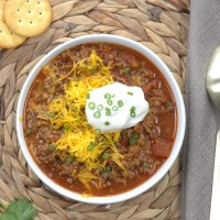 Instant Pot No-Bean Chili