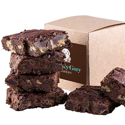 Gourmet Brownie Gift Box from Lucky Guy Bakery