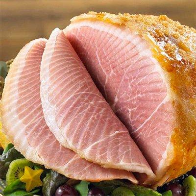 Order Ham Online, Spiral Cut Honey Glazed Ham from Burgers' Smokehouse