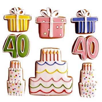 Birthday Celebration Sugar Cookies By Elenis Bakery