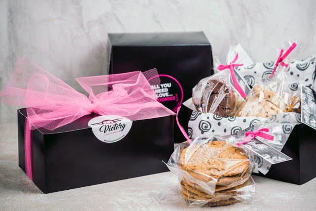 Gift Box of Gourmet Cookies to Order online from Victory Love Cookies