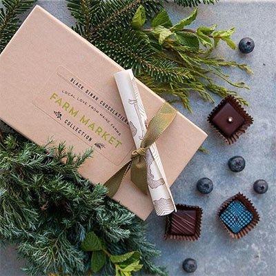A Gift Box of Farm Market Inspired Chocolates