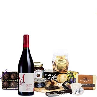 Oregon Red Wine Gift Basket