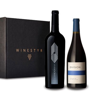 Red Wine Gift Basket, Small Production Wines