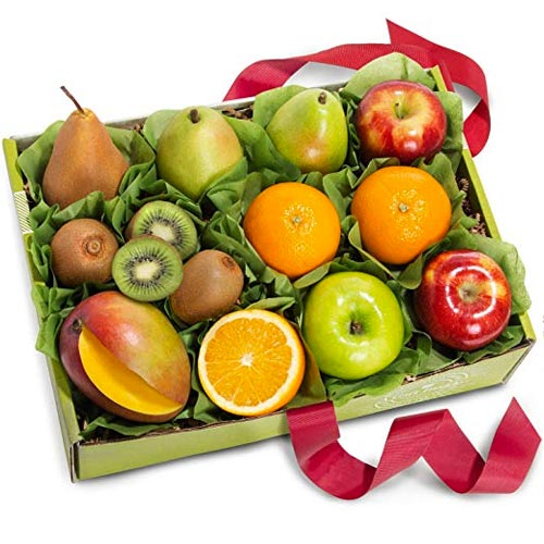 Organic Fruit Gift Basket From Golden State Fruit Available on Amazon