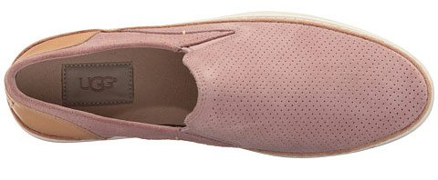 Uggs womens casual pink suede sneaker, a gift idea for the Casual Mom