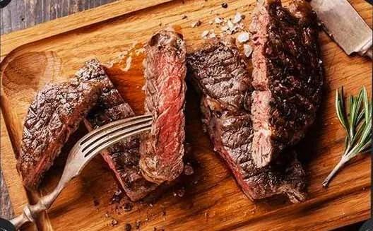 Order Steaks Online, Rib Eye Steak Grilling Package from Creekstone Farms